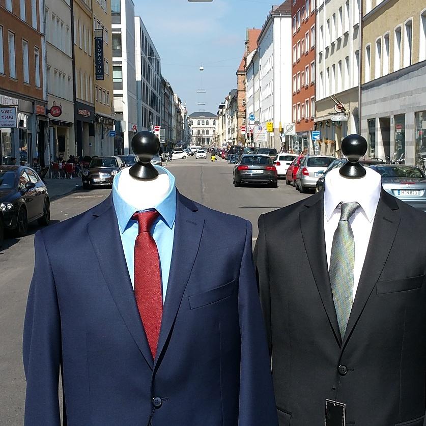 Anzug schwarz oder anthrazit